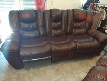 Coach, Love-seat, and Rocker all three pieces must go (will consider all reasonable offers) in Ramstein, Germany