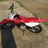 2012 Honda CRF70F in Leesville, Louisiana