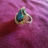 14kt gold wire wrap ring in Yucca Valley, California
