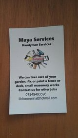 Maya cleaning services in Lakenheath, UK