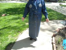 Denim long duster, Large/Med   12-14 in Fort Riley, Kansas