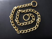 SOLID BRASS LONG LINK & TWISTED LINK CHOKE CHAIN in Lakenheath, UK
