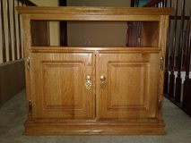 Solid Wood TV Stand in Yorkville, Illinois