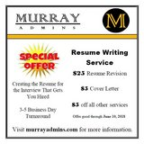 *Special Offer* Resume Revision in Fort Belvoir, Virginia