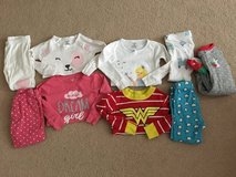 24 month toddler girl pajama lot! in Plainfield, Illinois