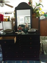Dresser with Mirror in Cherry Point, North Carolina