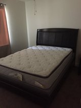 Queen Bed w/mattresses in 29 Palms, California