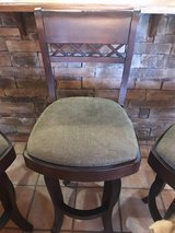 3 upholstered bar stools in Las Cruces, New Mexico