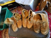 Danner RAT and Belleville boots used in Camp Pendleton, California