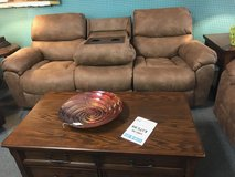 Sofa with drop down console and Rocking Loveseat in Fort Campbell, Kentucky