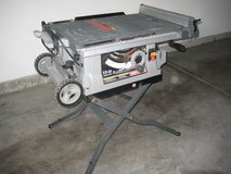 "10"" Crafstman Portable Table Saw in Naperville, Illinois"