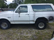 1992 ford bronco XLT parts in Camp Lejeune, North Carolina