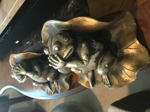 Frog bookends hear no evil see no evil in Cleveland, Texas