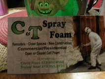 Sprayfoam services in Fort Leonard Wood, Missouri