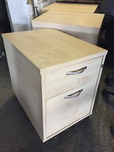 Office 2 Draw Wooden Cabinet in Lakenheath, UK