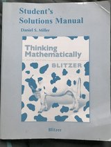 Thinking Mathematically by Daniel S. Miller in Ramstein, Germany