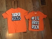 Brothers matching shirts in Aurora, Illinois