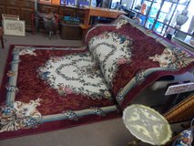 "Carpet 7' 8"" x 10' 10"" - Cerize USA Cameo Rose Wine very good condition in Cherry Point, North Carolina"