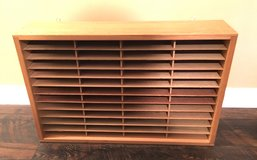 Wooden CD Storage Unit in Excellent Condition! in Beaufort, South Carolina