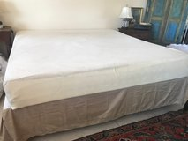 Tempurpedic Mattress - King. With box springs and frame in Beaufort, South Carolina