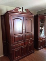 Entertainment Cabinet & Side Piece in Conroe, Texas