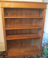 SOLID PINE BOOKCASE in Lakenheath, UK