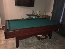 Pool Table for Sale (includes sticks and balls for free) in Fort Belvoir, Virginia