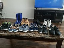 boys clothes sizes 7/8 shoes are size 2, 3 and 4 in Fort Hood, Texas