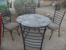 ##  Dinning Table + 4 Chairs  ## in Yucca Valley, California