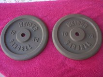 Barbell weights. in Ramstein, Germany