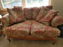 Sofa/loveseat w matching wingback chair in Plainfield, Illinois