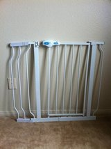 """Regalo Easy Step Walk Thru Gate, White, Fits Spaces between 29"""" to 39"""" Wide. in Camp Pendleton, California"""