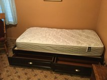 Captain's bed with Serta mattress in Fairfield, California
