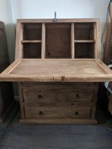 Custom made dresser/desk w/fold-down surface and cast iron lock in Vista, California