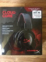 Cloud core hyper X gaming headphones in Fort Irwin, California