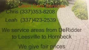 Lawn Care Services in DeRidder, Louisiana