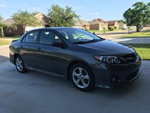 2012 Toyota Corolla S - 108,000 miles in Fort Hood, Texas