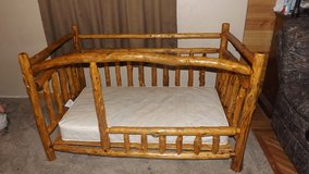 Rustic LOG Baby/Toddler bed in Fort Leonard Wood, Missouri