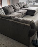 Gray fabric 3 pc sectional in Fort Leonard Wood, Missouri