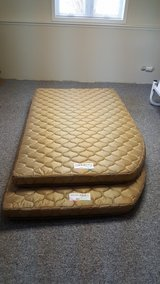 RV full size bunk mattresses-never used in Lockport, Illinois
