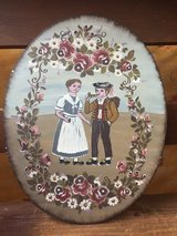 Folk Art Country Painted Picture in Ramstein, Germany