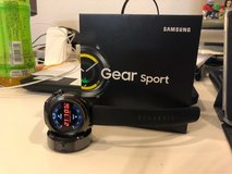 Excellent Condition (Like New) - Samsung Gear Sport Smartwatch, Black, SM-R600 (Asia Version) in Okinawa, Japan