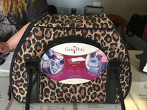 Leopard Print Dog Carrier in Camp Lejeune, North Carolina