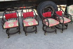 4 Rattan Chairs in Wilmington, North Carolina