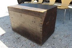 Antique Wood Trunk 1700s !! in Wilmington, North Carolina