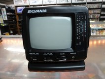 Retro Black & White TV (Black) in Camp Lejeune, North Carolina