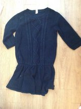 Black sweater dress girls size 10/12 in Camp Lejeune, North Carolina