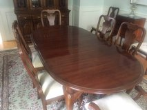 Queen Anne Dining Room Table and 6 chairs, Mint condtion in Wilmington, North Carolina