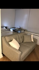 *Grey Loveseat (from Raymour) in Bolling AFB, DC
