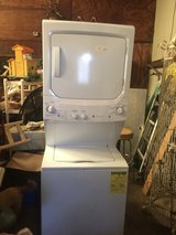 GE stacked washer dryer in Fort Polk, Louisiana